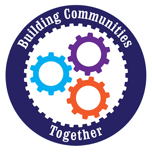 Building communities together partnership logo
